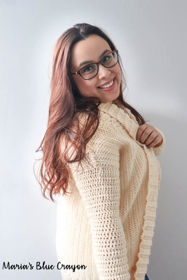 Cardigan Shrug - Easy Crochet Shrug Free Patterns for Beginners
