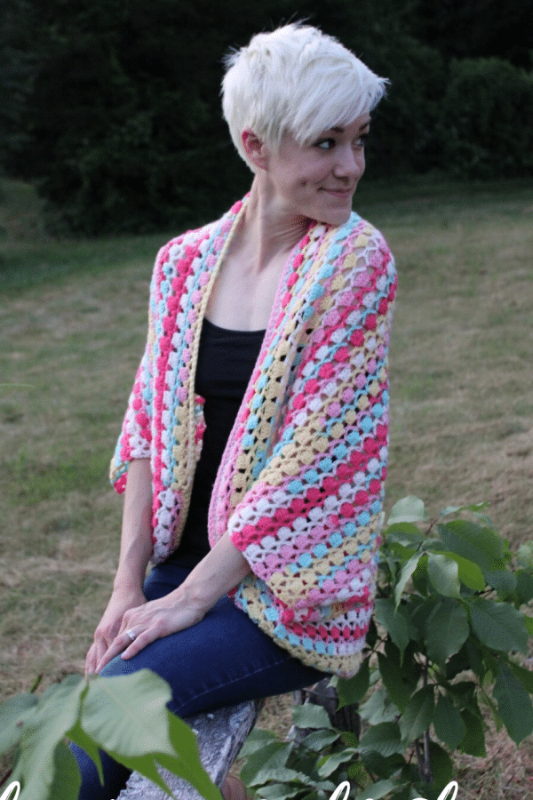 Shine Your Light Shrug - Easy Crochet Shrug Free Patterns for Beginners