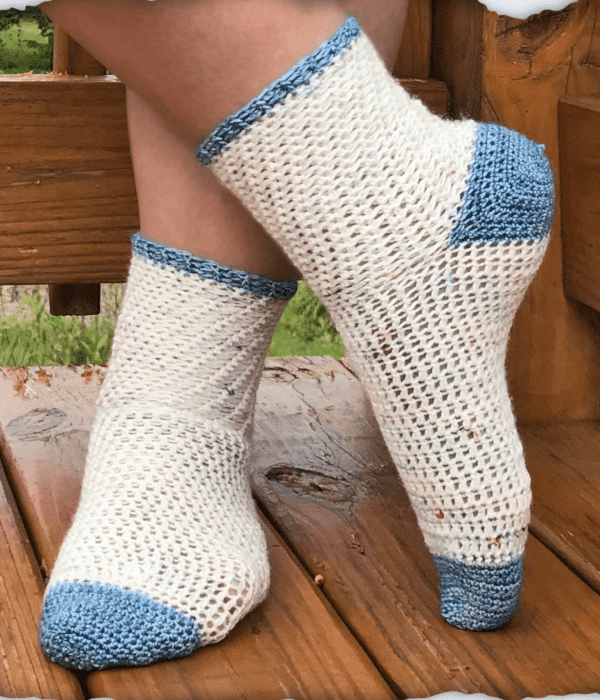 Walking on Clouds - Easy Crochet Sock Patterns for Beginners