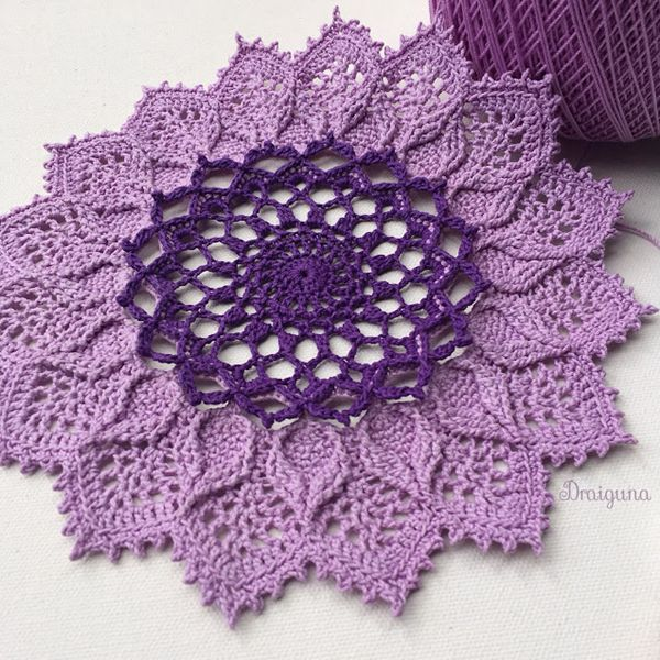 Arcanoweave - Easy Crochet Doily Patterns for Beginners