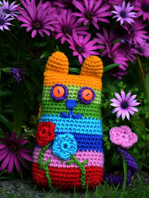 Caity Cat - Easy Crochet Cat Patterns for Beginners