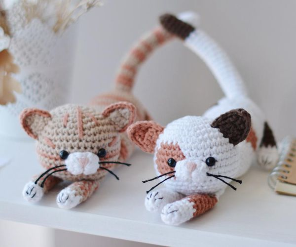 Calico Cat - Easy Crochet Cat Patterns for Beginners