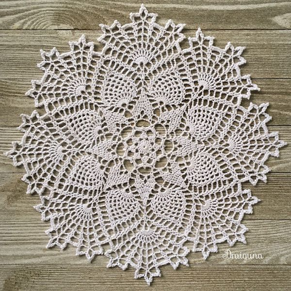 Frost Nova - Easy Crochet Doily Patterns for Beginners