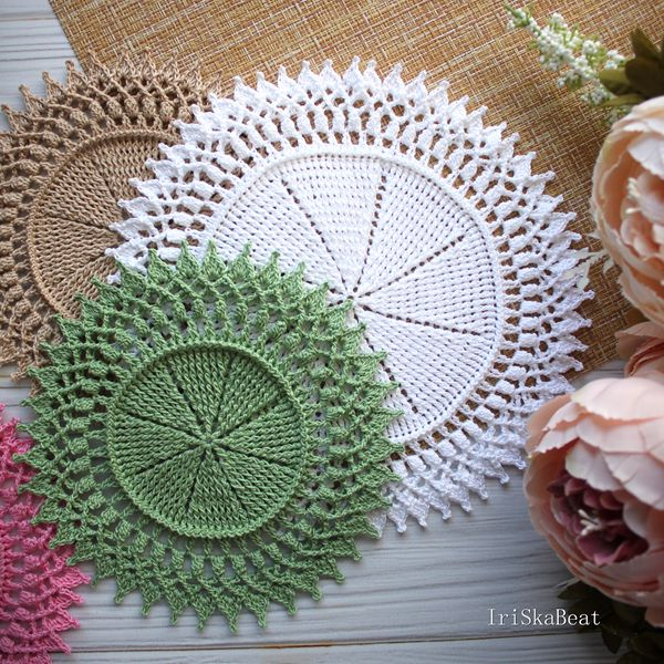 Susie Doily - Easy Crochet Doily Patterns for Beginners