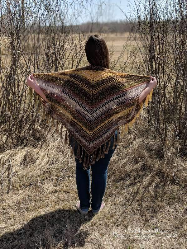 Blissful Boho Shrug - Easy Crochet Shrug Free Patterns for Beginners